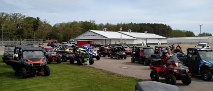 ATV parking at Zippel Park